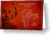 Albert Einstein Patent Drawing from 1930 Greeting Card by Aged Pixel