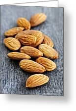 Almonds Greeting Card by Elena Elisseeva