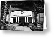 american police hall of fame and museum Florida USA Greeting Card by Joe Fox