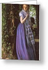 April Love Greeting Card by Arthur Hughes