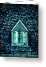 Attic Window Greeting Card by Jill Battaglia