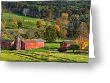Autumn Light Greeting Card by Bill Wakeley