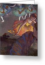 Ballet Greeting Card by Edgar Degas