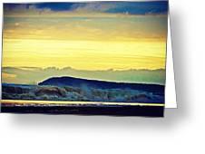 Bass Coast Greeting Card by Blair Stuart