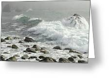Big Sur Greeting Card by Justin Moranville