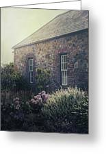 British Cottage Greeting Card by Joana Kruse