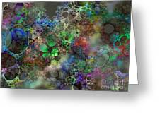 Bubbles Greeting Card by Klara Acel