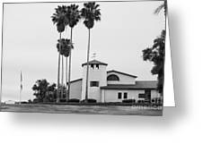 Cal Poly Pomona Union Plaza Greeting Card by University Icons