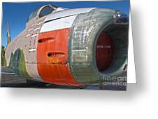 Canadair Sabre Qf-86h Greeting Card by Gregory Dyer