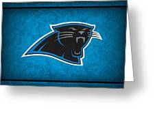 Carolina Panthers Greeting Card by Joe Hamilton