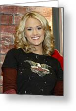 Carrie Underwood Greeting Card by Don Olea