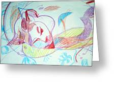 Charity Greeting Card by Anita Dale Livaditis