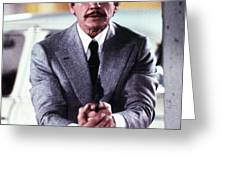 Charles Bronson in Murphy's Law  Greeting Card by Silver Screen