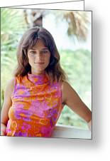 Charlotte Rampling Greeting Card by Silver Screen