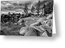Chimney Beach Lake Tahoe Greeting Card by Scott McGuire
