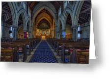 Church Of Our Saviour Greeting Card by Ian Mitchell