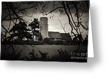 Church Greeting Card by Svetlana Sewell