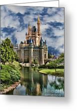 Cinderella Castle II Greeting Card by Lee Dos Santos