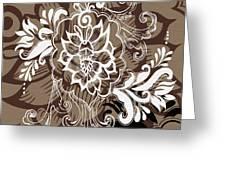 Coffee Flowers 10 Greeting Card by Angelina Vick