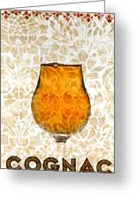 Cognac Greeting Card by Frank Tschakert