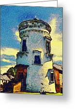 Corbiere Lighthouse Greeting Card by Unknown