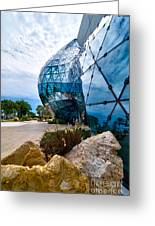 Dali Museum Saint Petersburg Florida Greeting Card by Amy Cicconi