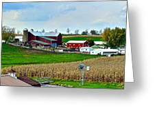 Down on the Farm Greeting Card by Frozen in Time Fine Art Photography