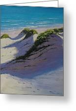 Dune Shadows Greeting Card by Graham Gercken