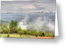 Dunlap Valley Greeting Card by David Troxel