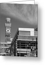 Emerson Bromo-seltzer Tower Greeting Card by Susan Candelario