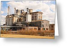Feed Mill Greeting Card by Charles Beeler