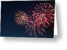 Fireworks Series VI Greeting Card by Suzanne Gaff