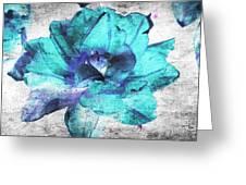 Flower Greeting Card by Lali Kacharava