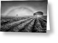 Fog Bow Greeting Card by John Farnan