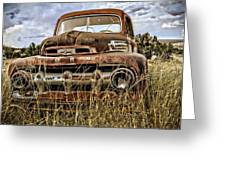 Ford Greeting Card by Gia Marie Houck