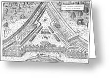 Fort Caroline, 1564 Greeting Card by Granger