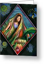 Fortune Teller Greeting Card by Luis  Navarro