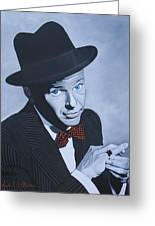 Frank Sinatra Greeting Card by Jared Wilkins