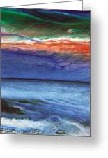 Frosty Wind Greeting Card by The Art of Marsha Charlebois