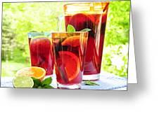 Fruit punch  Greeting Card by Elena Elisseeva