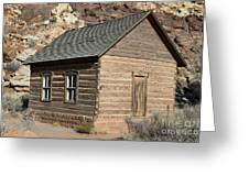 Frutia Schoolhouse Capitol Reef National Park Utah Greeting Card by Jason O Watson