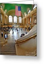 Grand Central Station New York City Greeting Card by Amy Cicconi