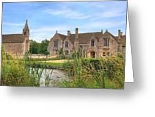 Great Chalfield Manor Greeting Card by Joana Kruse