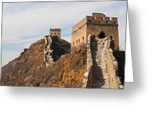 Great Wall of China Greeting Card by Fototrav Print