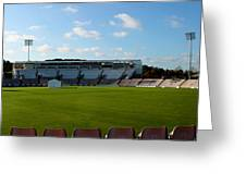 Hampshire County Cricket Ground Greeting Card by Terri  Waters