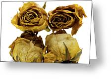 Heap Of Wilted Roses Greeting Card by Bernard Jaubert