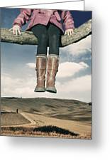 High Over The World Greeting Card by Joana Kruse