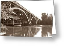 Historic Wil-cox Bridge Greeting Card by Matt Taylor