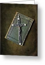 Holy Book Greeting Card by Joana Kruse