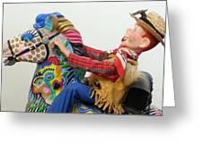 Howdy Partner Greeting Card by Keri Joy Colestock